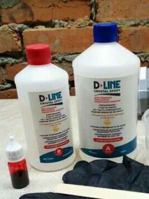 D-line Crystal Epoxy